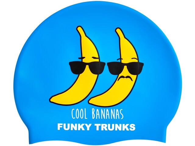 Funky Trunks Silicone Bonnet de bain, cool bananas